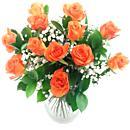 Dozen Orange Roses