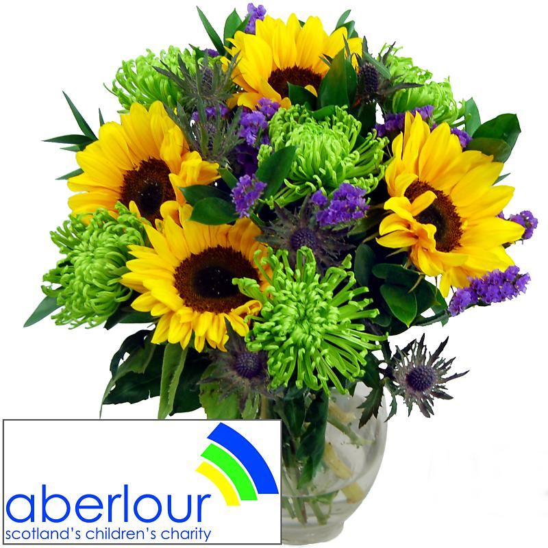 aberlour charity bouquet