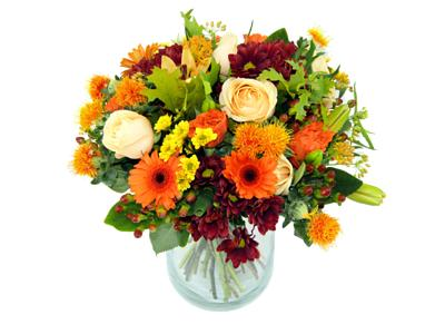 autumn falls bouquet