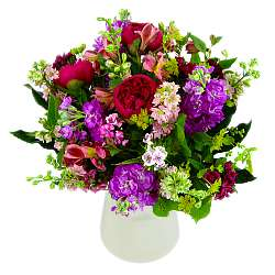 A larger view of The Beautiful British Bouquet, an arrangement of fresh flowers available now for next-day flower delivery from Clare Florist