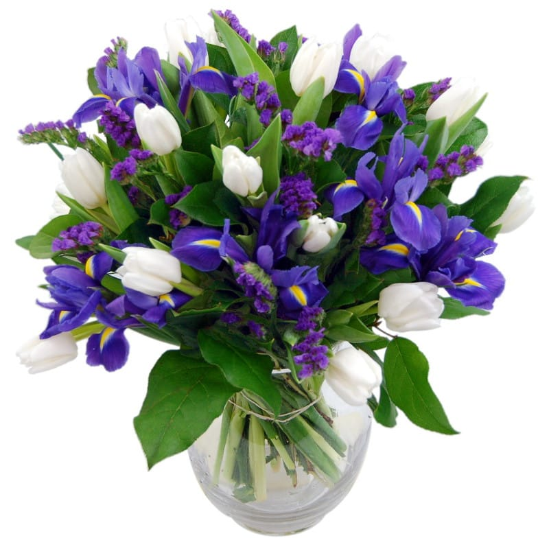 blue dew bouquet