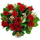 The Stunning Christmas Roses Bouquet.