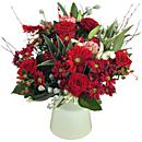 A small image of our cranberry bliss floral bouquet
