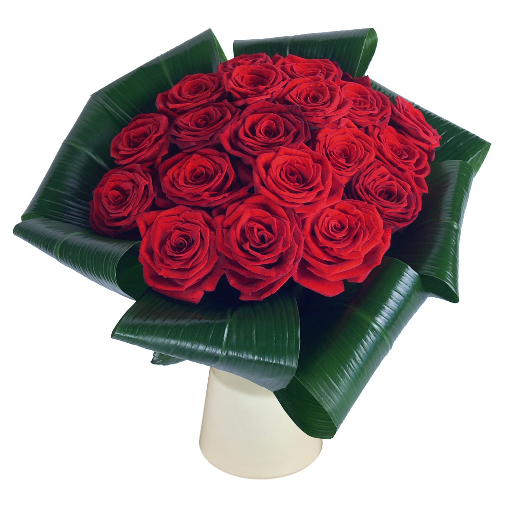 Love - 20 Red Roses half price special offer on subscriptions.