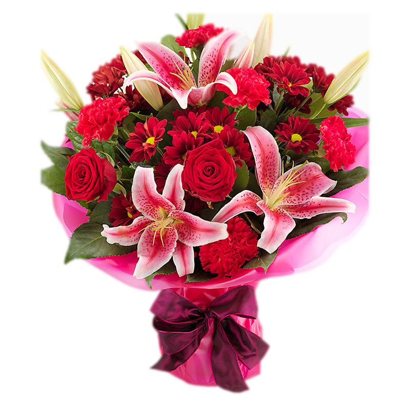 Lucky in Love Bouquet half price special offer on subscriptions.