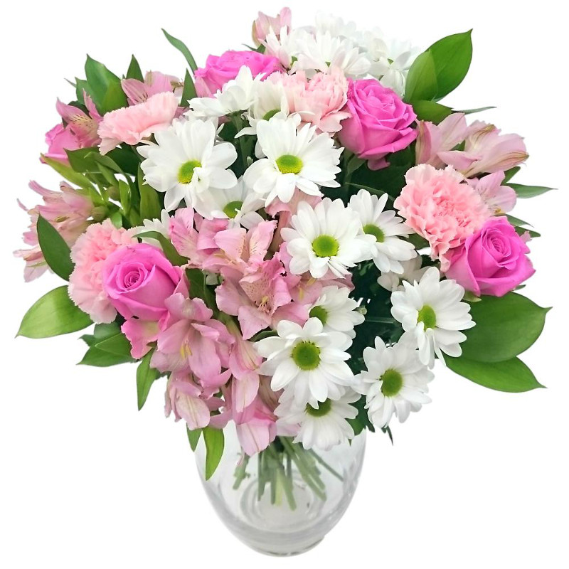 Precious Pink and White Bouquet Review