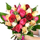 Mother's Day Roses – fresh flowers for UK delivery by post – bouquets and arrangements from Clare Florist