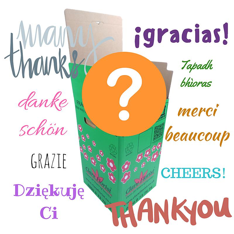 Mystery Thank You Bouquet