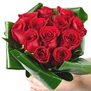 Favourite Dozen Red Roses – fresh flowers for UK delivery by post – bouquets and arrangements from Clare Florist