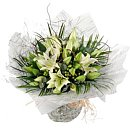 Classic Lilies – fresh flowers for UK delivery by post – bouquets and arrangements from Clare Florist