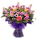 Loving Affection – fresh flowers for UK delivery by post – bouquets and arrangements from Clare Florist