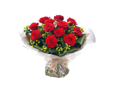 Twelve Red Roses half price special offer on subscriptions.