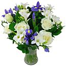 a smaller image of our serene dreams bouquet