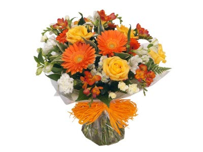Shades of Amber Bouquet
