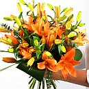 Tiger Lilies – fresh flowers for UK delivery by post – bouquets and arrangements from Clare Florist