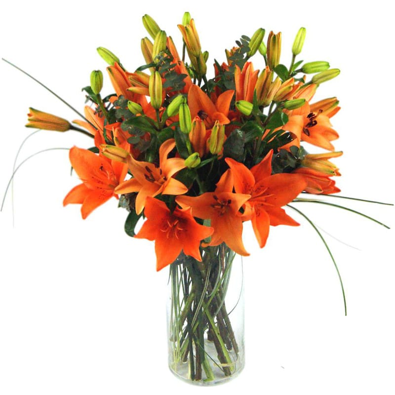 Image result for tiger lily bouquet