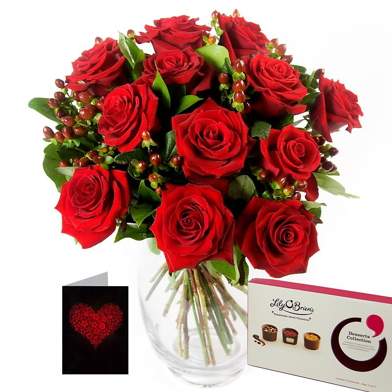 Twelve Red Roses Gift Set half price special offer on subscriptions.