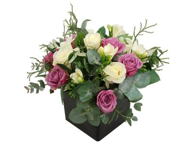 vintage roses and freesia