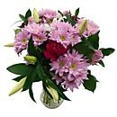 The exquisitely radiant Pretty in Pink Bouquet will make for a joy-inducing gift on any special occasion.