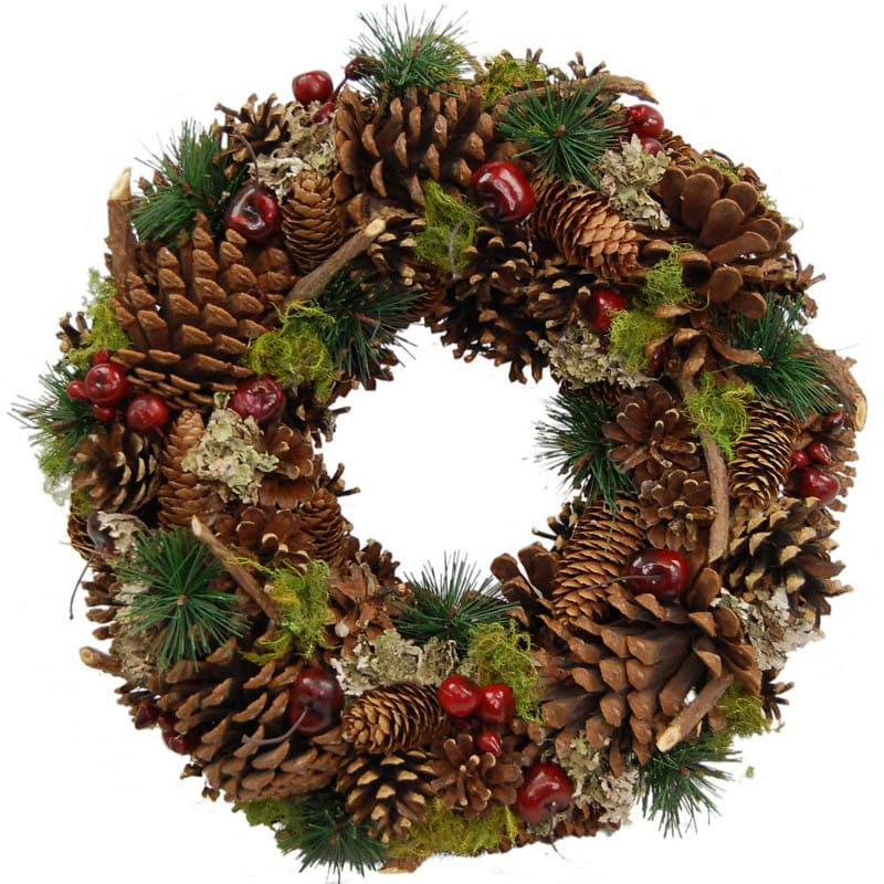 yuletide wreath by clare florist for christmas