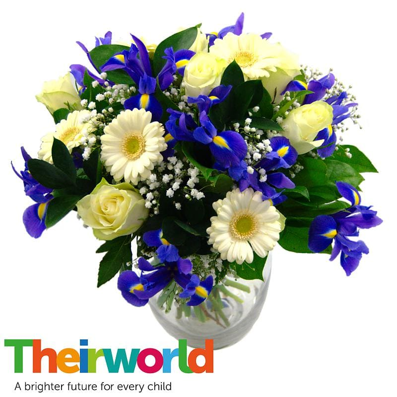 Baby Boy Flowers with Theirworld