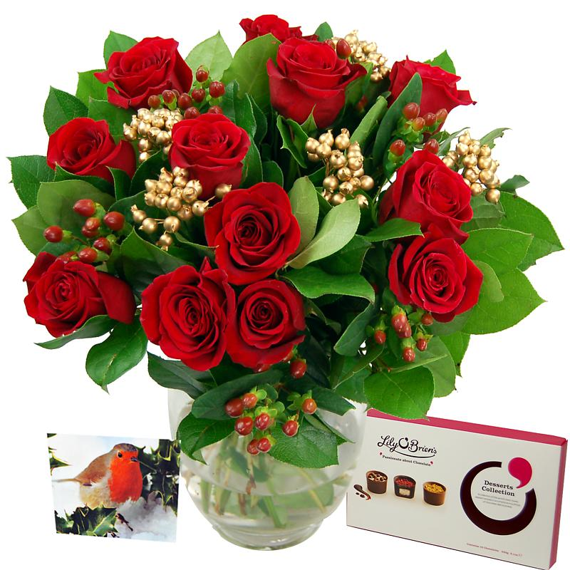 Christmas Rose Gift Set