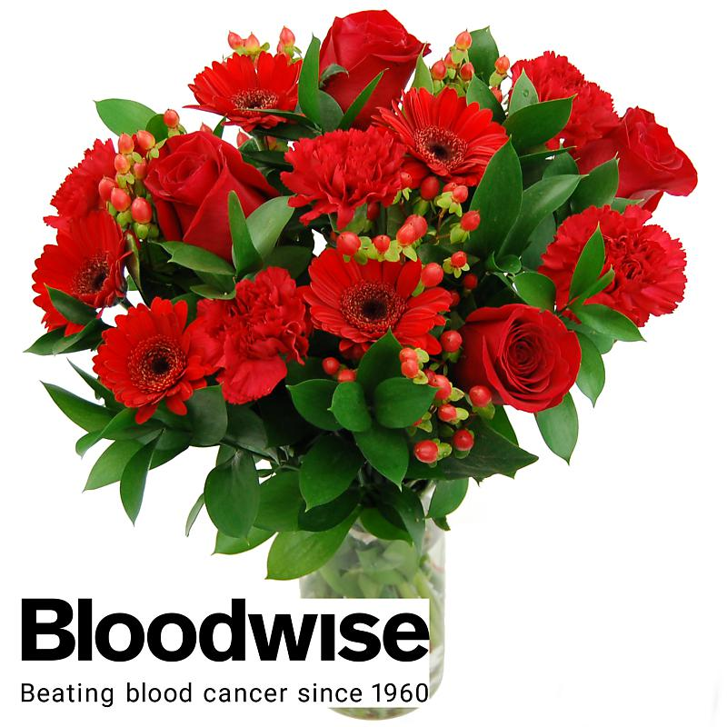Blood Cancer UK Charity Bouquet