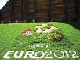 Floral Designs Kick Off Euro 2012
