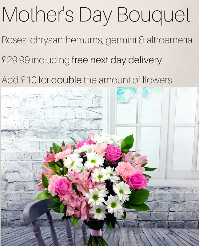 Mother's Day Deluxe Size Bouquet