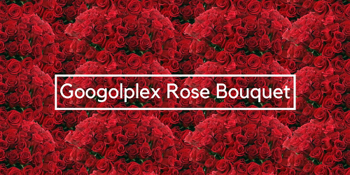 Googolplex Rose Bouquet