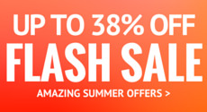 Up to 38% Off Flash Sale