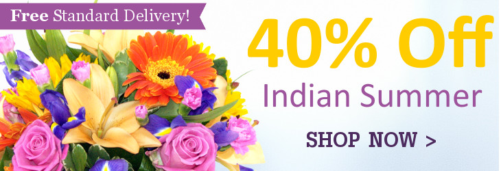 40% Off our Indian Summer