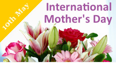 Send International Mother's Day flowers with Clare Florist