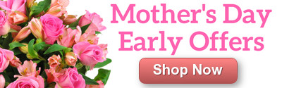 Pre-order Mother's Day Flowers and Get Free Delivery