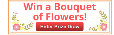 Subscribe for a chance to win free flowers