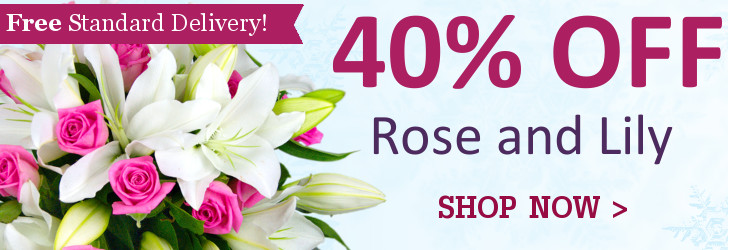 40% Off Rose and Lily