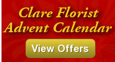Clare Florist Advent Calendar - Special Offers