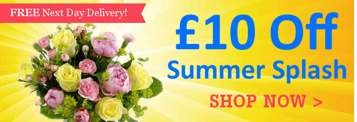 Summer Splash now with £10 off