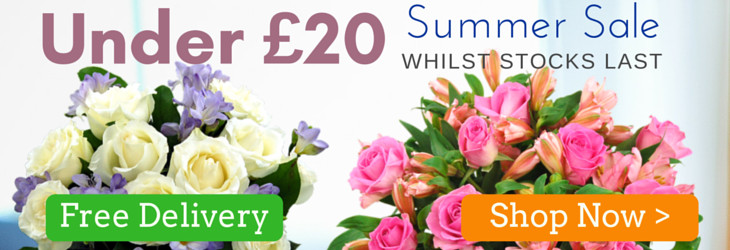 Order any of these Bouquets for £19.99 with Free Next Day Delivery included!