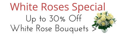 Special Offers on White Roses