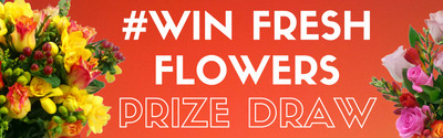 Win Flowers in our Prize Draw