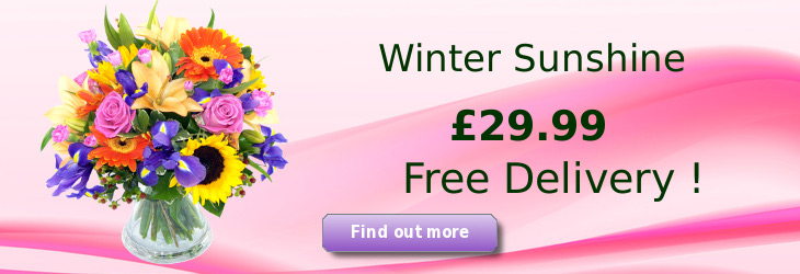The Wintersunshine Bouquet; special offer flower delivery by Clare Florist