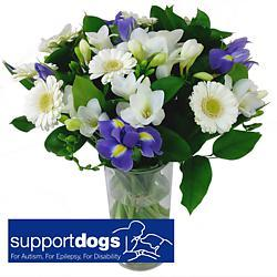 Support Dogs Charity Bouquet